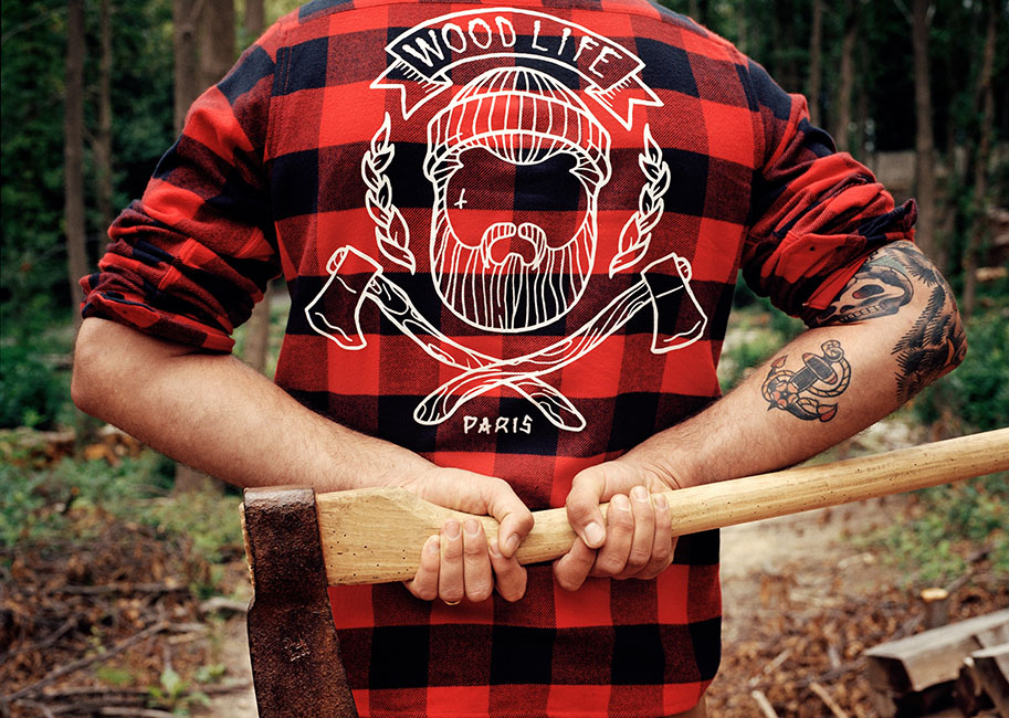Barberline Magazine N°2 - Woodlife Family