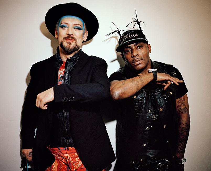 Boy George and Coolio