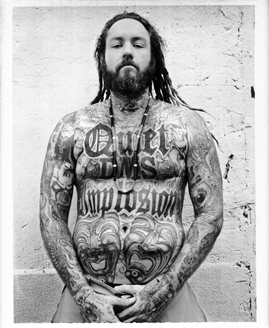 Chris Dread - Rancid - Roadie